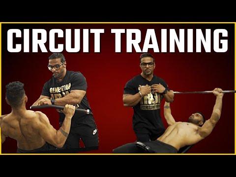 Circuit Training Exercises | Full Body Workout | Yatinder Singh