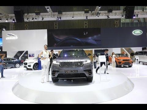 |VIMS 2017| Choáng ngợp loạt SUV đình đám ở gian hàng Land Rover