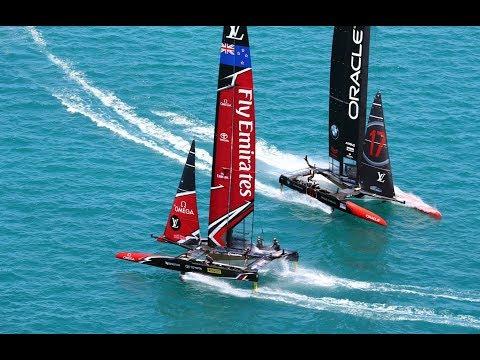 CNN Mainsail, Shirley Robertson - How Team New Zealand won back the America's Cup