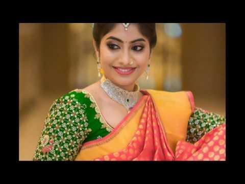 dad4ebd316553f Heart Tach Silk Saree And Blouse Design - YouTube