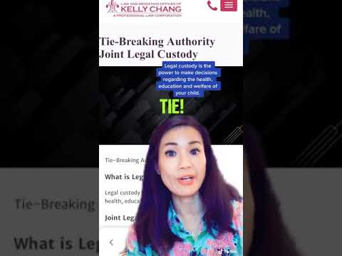 Joint Legal Custody