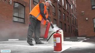 Учения по пожарной безопасности