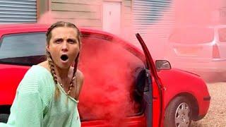 I SMOKED BOMBED HER CAR ( PRANK WAR)