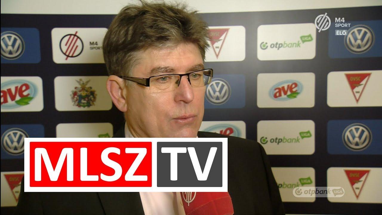Edzői értékelés a DVSC - Budapest Honvéd mérkőzésen