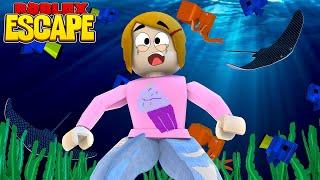 Roblox escapar do aquário Obby com Molly! -Os jogos de heróis de brinquedo
