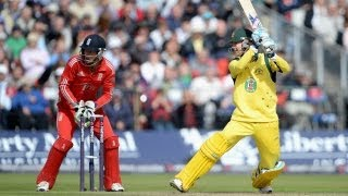 Australia innings highlights - 2nd NatWest Series ODI, Old Trafford
