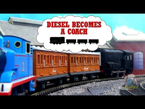 Thomas & Friends - Diesel Becomes A Coach (Adaptation)