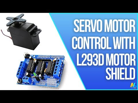 Arduino : How to Control Servo Motor With Motor Shield: 5 Steps