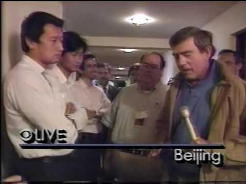 CBS News  Tiananmen Square Protest Coverage, June 2, 1989