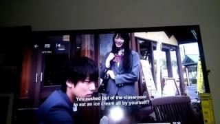 Minami- Kun accidentally pushes his Ice Cream into Sayori face hehehe.