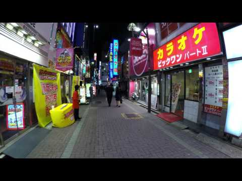 Walking through Kabukicho -Tokyo, Japan - Part 1