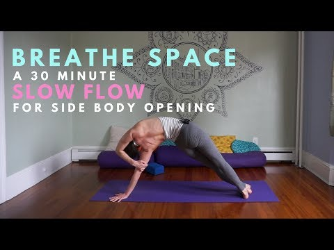 Breathe Space - A Side Body Slow Flow with Savasana