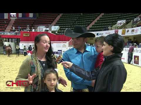 Pedro Ornelas Crowned 2017 NCHA Ltd Open Futurity Champion