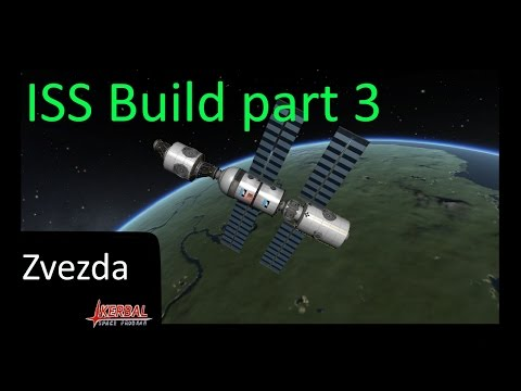 ISS build part 3: Zvezda