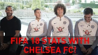 REVEALED - FIFA 18 stats for Chelsea's Hazard, Luiz & Christensen!