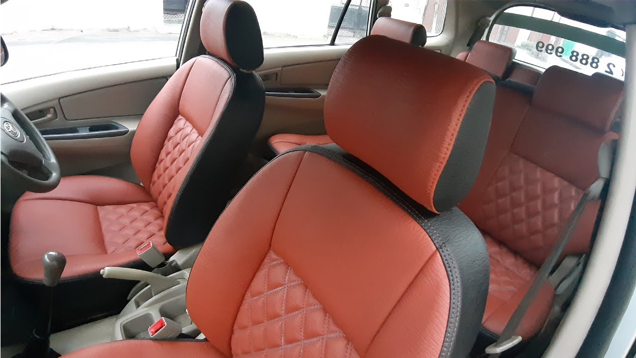 Innova 8 seater seat cover get soap out of carpet