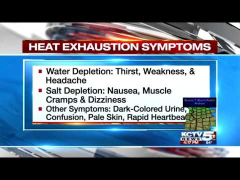 Warning Signs, Symptoms of Heat-Related Illness