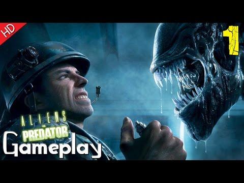 Aliens vs Predator™ (Marine) Mission 1: Colony (HD) PC Gameplay