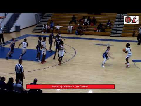 Lanier County Bulldogs Basketball Vs Denmark High School
