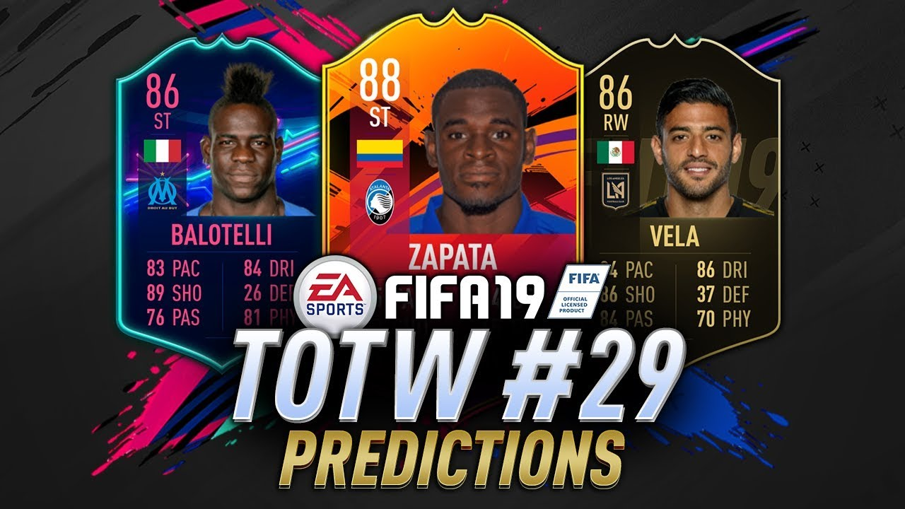 Totw 29 Predictions