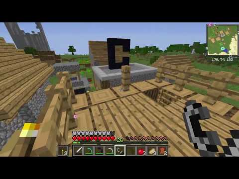 Sezon 8 Minecraft Modlu Survival Bölüm 4 - Kuleyi Patlattım