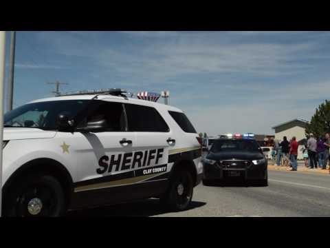Deputy Moore Funeral Procession