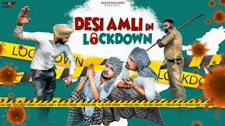 Desi Amli In Lockdown • A Comedy Video • Jaggie Tv