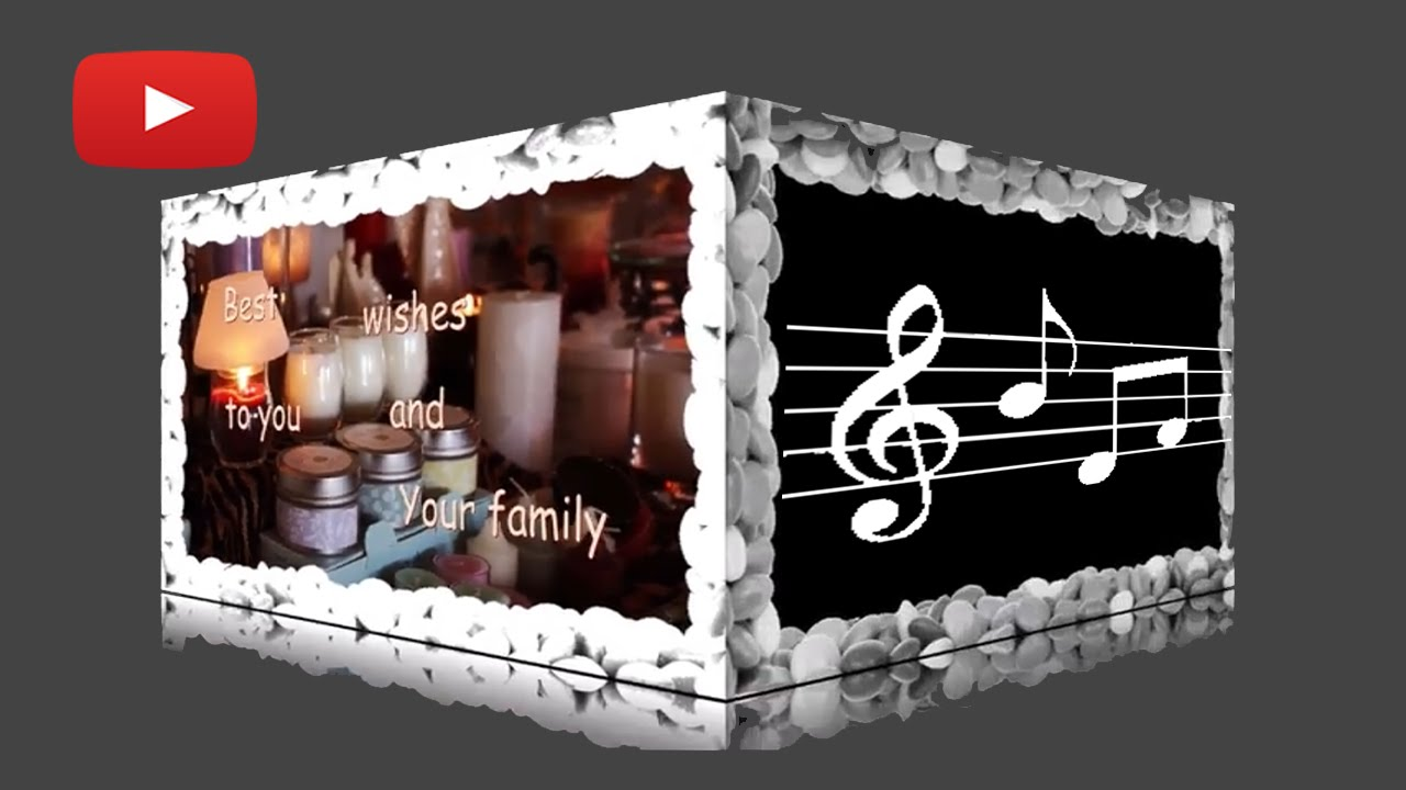 Turn Your Animated Greeting Card Carousel Into A Music Video Youtube
