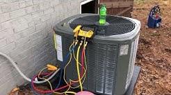Trane HVAC Change Out on a tight Budget Entry Level 14 S.E.E.R.