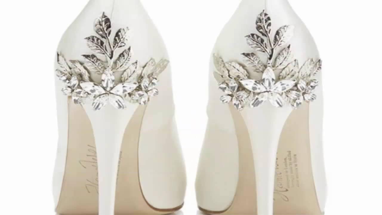 02514797a3 BEST WEDDING SHOES FOR 2016 LOS ZAPATOS DE NOVIA MAS HERMOSOS 2016 - YouTube