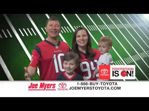 joe myers toyotahon - youtube