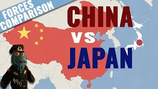 China vs Japan: Military forces comparison (2018)
