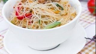 Рецепт Фунчозы с мясом и овощами. Попробуйте очень вкусно!