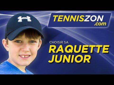Choisir sa Raquette de Tennis Junior