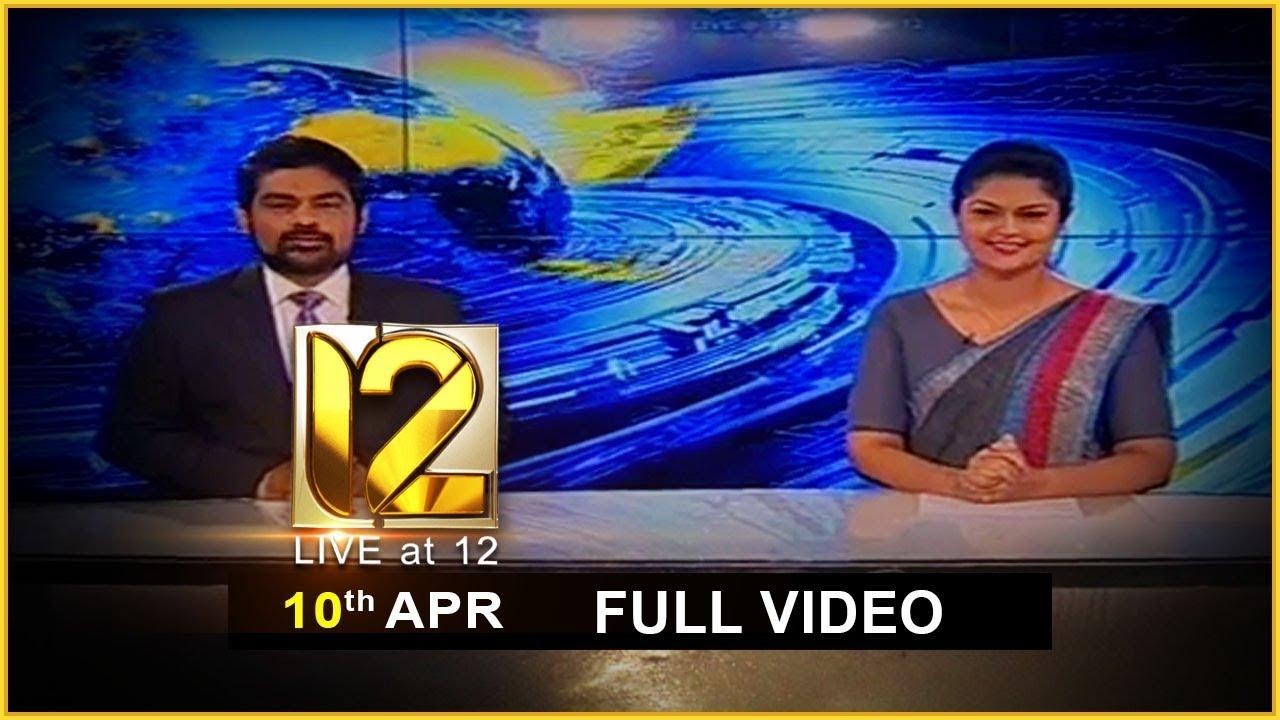 Live at 12 News – 2020.04.10