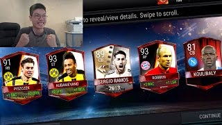 FIFA Mobile Bundesliga League Masters Packs!! UFB PULL!! FIFA MOBILE PACK OPENING