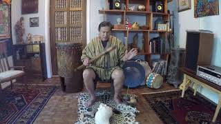 Sacred Trilogy of Native American Instruments