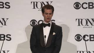 Andrew Garfield - Tony's 2018 - Full Backstage Q&A