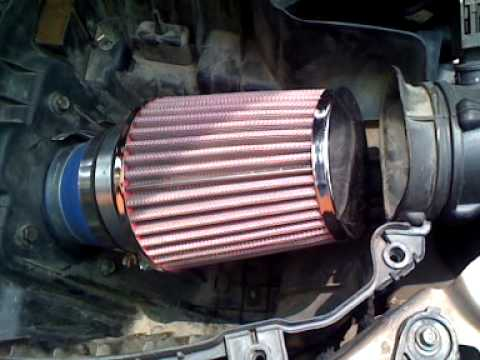 Dodge Neon 2000 Custom Air Filter Short Ram K Amp N Youtube