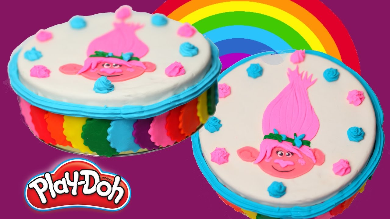 How To Make Birthday Cake From Play Doh