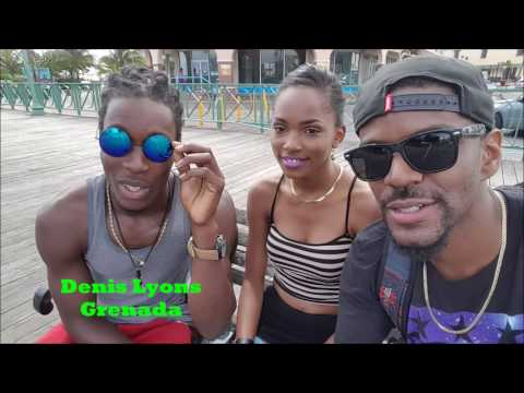 Two Leaders from Grenada on a Paycation in Barbados