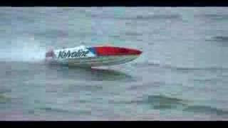 "RC BOAT OFFSHORE 56"" APACHE AIR BORNE"