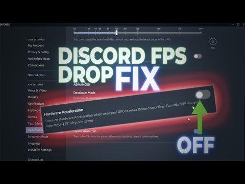 Discord FPS Drop FIX!