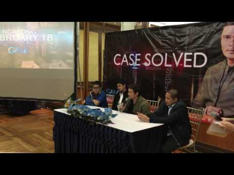 "Dingdong Dantes talks about his new crime show ""Case Solved"" - 동영상"