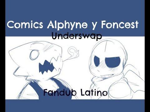 Mini comic Alphyne y Fontcest (fandub latino)