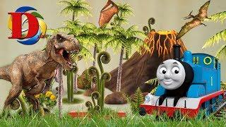 Поезда для детей Томас и его друзья мультики для детей Железная дорога и железнодорожный транспорт