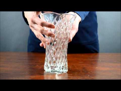 Eo Brody Co Pressed Glass Vase Youtube