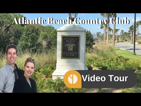 Atlantic Beach Country Club Neighborhood and Homes Video Tour | Golf Course Community