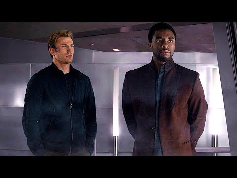 Steve Rogers & TChalla - Wakanda Scene (End Credits) Captain America: Civil War - Movie CLIP HD
