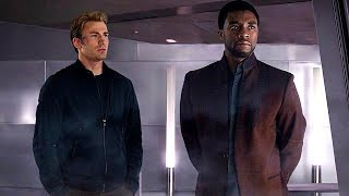 Steve Rogers & T'Challa - Wakanda Scene (End Credits) Captain America: Civil War - Movie CLIP HD
